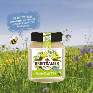 Honig aus bienenfreundlicher Landwirtschaft
