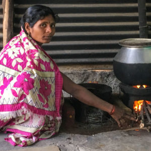 Clean cooking stoves in Raichur, India
