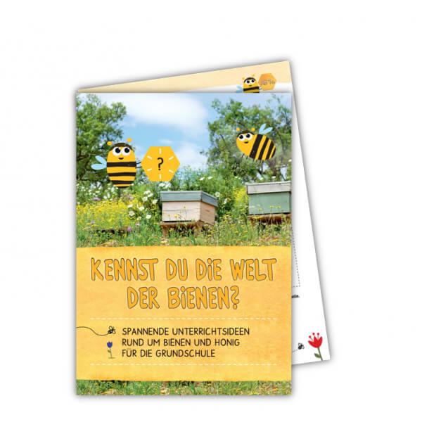 Cover des Unterrichtsmaterials Kennst du die Welt der Bienen?