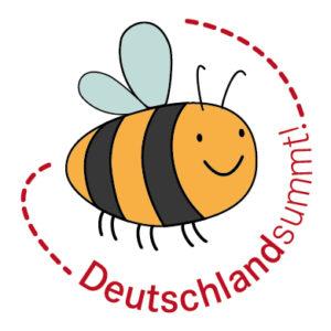 Bienen Logo von Deutschland summt