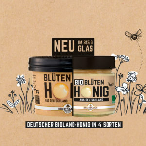 Aus Bee to Becher wird Bee to Glas!