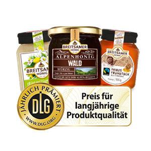 DLG-Auszeichnung für Produktqualität