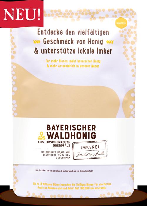 Breitsamer Waldhonig im Honigbeutel