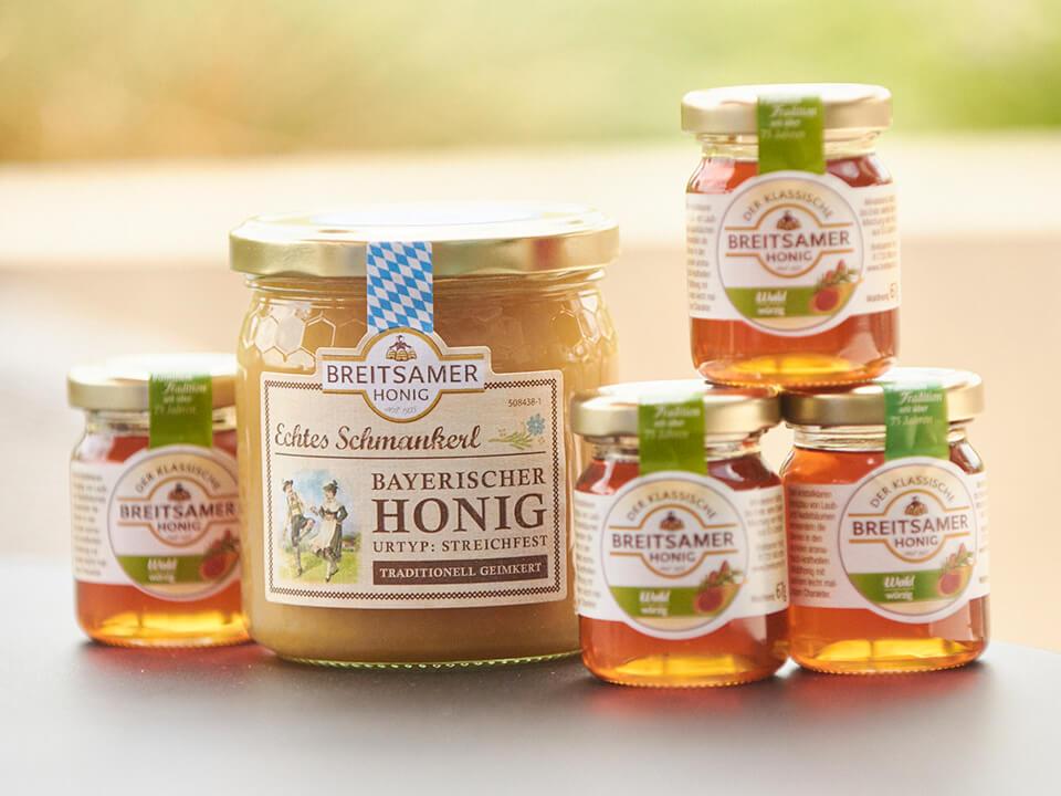 Breitsamer Honige für Bavaria Königsmarsch 2021
