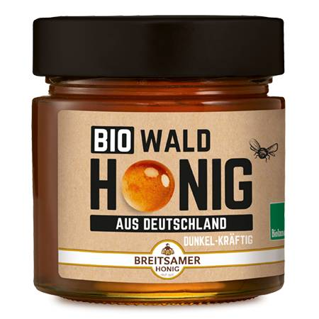 Organic Forest Honey from Germany, liquid, 315 g