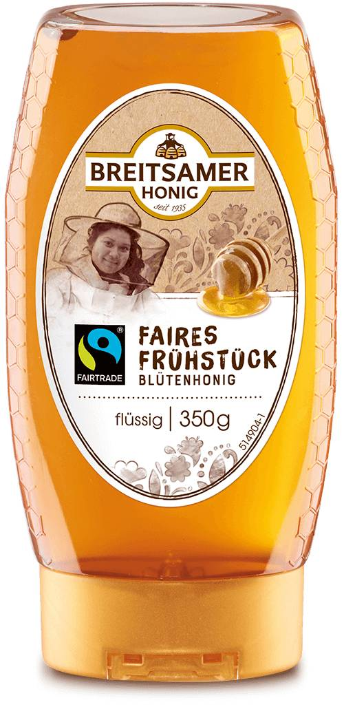 Fairtrade breakfast honey, liquid, 350g