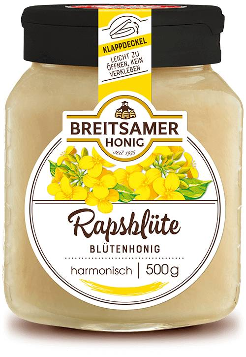 Rapsflower Honey, creamy, 500g
