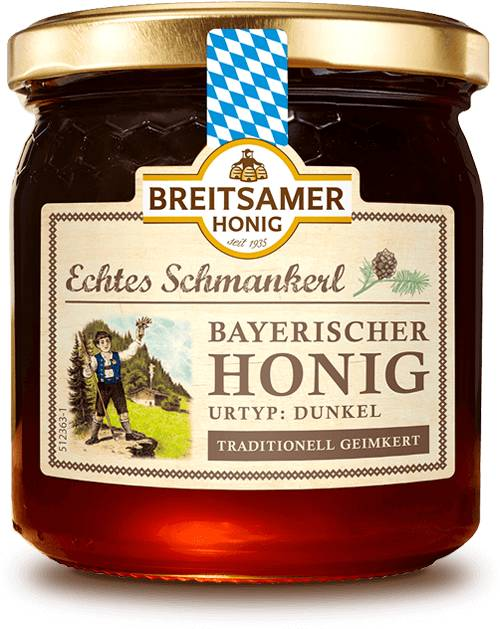 Bavarian Forest Honey, Echtes Schmankerl, liquid, 500g