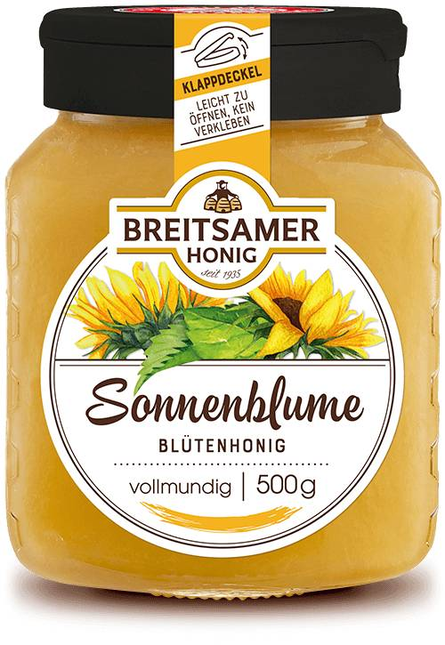 Sunflower Honey, creamy, 500g