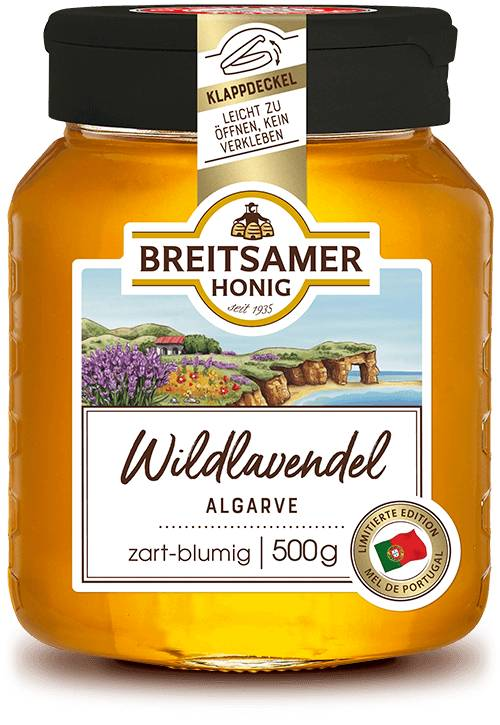 Wild Lavender Honey from the Algarve, liquid, 500g