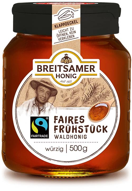 Fairtrade breakfast honey, forest, liquid, 500g